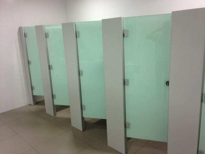Divisória para Banheiros em Vidro Campo Maior - Divisória de Banheiro de Universidade