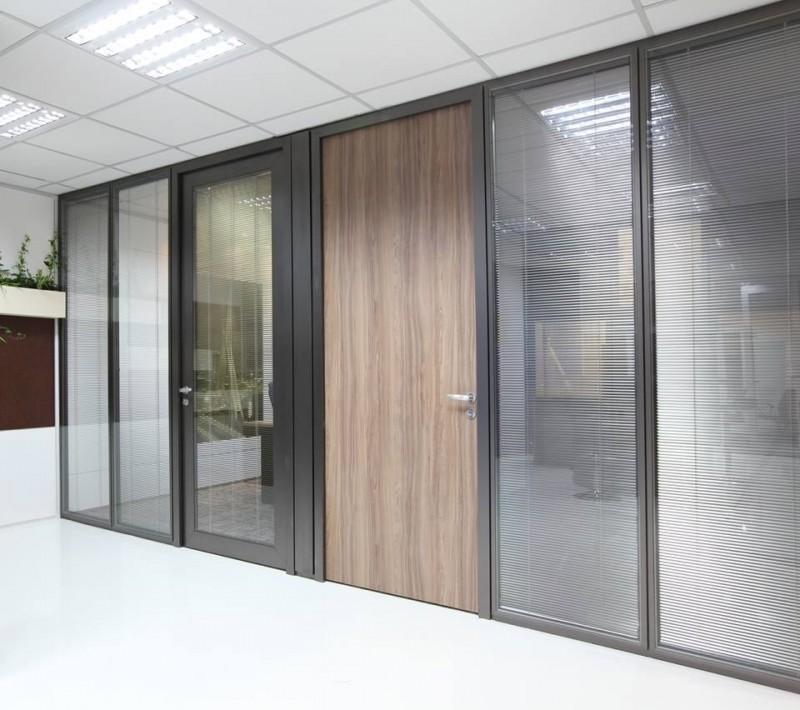 Divisória Piso Teto com Vidro Duplo Orçar Caxias - Divisória Piso Teto para Empresa