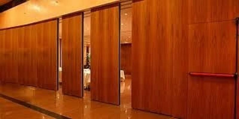 Divisória Retrátil para Hotel Jacutinga - Divisória Retrátil Residencial