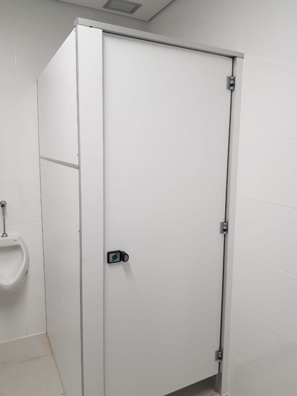 Divisória Sanitária Alcoplac Plus Preços Nova Olinda - Divisória de Banheiro de Vidro