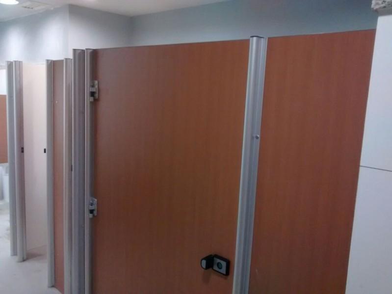 Divisórias para Banheiro Pequeno Cerro Grande - Divisória de Banheiro de Vidro