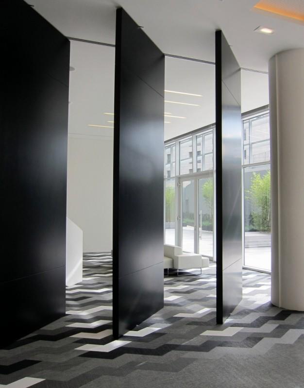 Divisórias Piso Teto Acústicas Trindade - Divisória Piso Teto Vidro Duplo