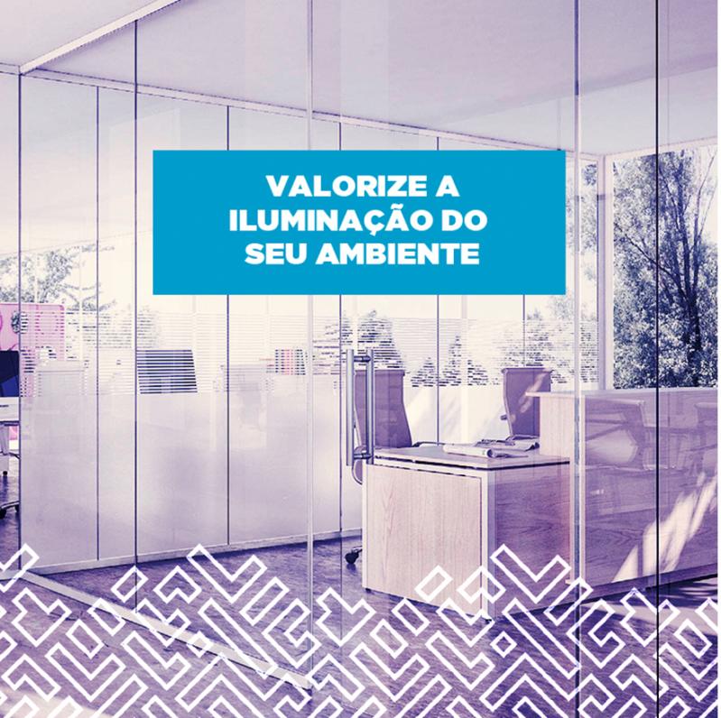 Divisórias Piso Teto com Vidro Duplo Goiás - Divisória Piso Teto Acústica para Escritório