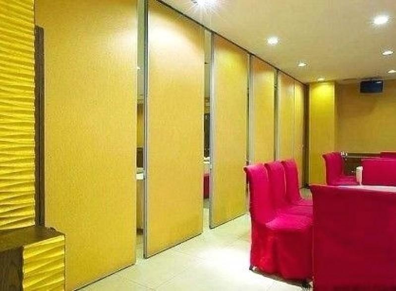 Divisórias Retráteis para Hotel Jacutinga - Divisória Retrátil Residencial