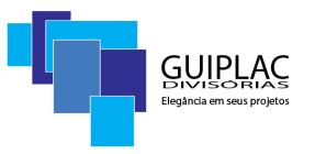 divisória de vidro blindex - Guiplac Divisórias