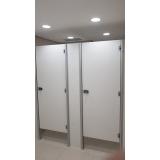 divisória de banheiro público preços Peixoto de Azevedo