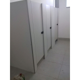 divisória de banheiro público Taquari