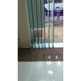 divisória de vidro branco à venda Cidade Ocidental
