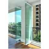 divisória de vidro com persiana interna à venda Santa Cruz do Sul