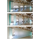 divisória de vidro meia altura Corumbá