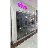 divisória de vidro para escritório à venda Capixaba
