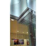 divisória de vidro temperado à venda Jacutinga
