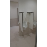 divisória para banheiro e vestiário preços Tibagi
