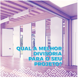 divisória retrátil acústica para sala Porto Alegre