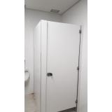 divisórias com porta para para chuveiro Bahia