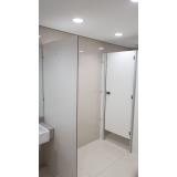 divisórias de banheiro público Jataí