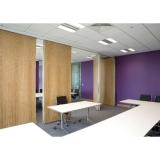 divisória de madeira para escritório