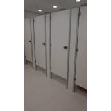divisórias para banheiro e vestiário São José do Rio Claro