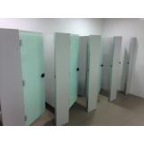 divisórias para banheiros em vidro Itaberaba