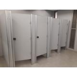 empresa de divisória com porta para vestiário Goiás