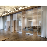 onde encontro divisória de ambiente de vidro Novo Gama