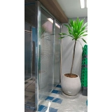 preço de divisória de vidro piso teto Rio Bananal