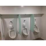 quanto custa divisória de banheiro de vidro Tibagi