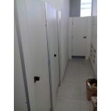 quanto custa divisória de banheiro escolar Cerro Grande