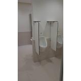 quanto custa divisória para banheiros coletivos Estação