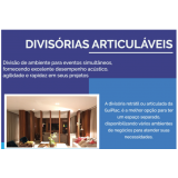 valor de divisória articulada madeira Luís Correia