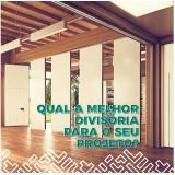 venda de divisória sanfonada acústica Sapezal